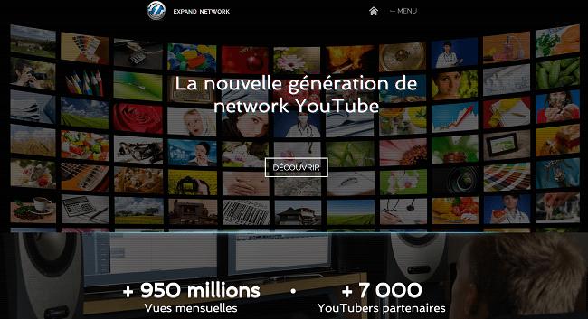 Expand Network l Réseau YouTube francophone