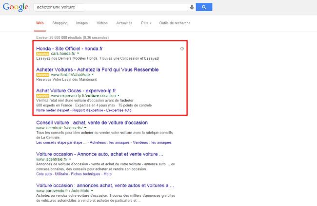 acheter un voiture   Recherche Google