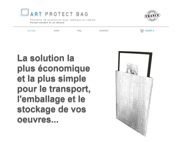 Accueil Art Protect Bag