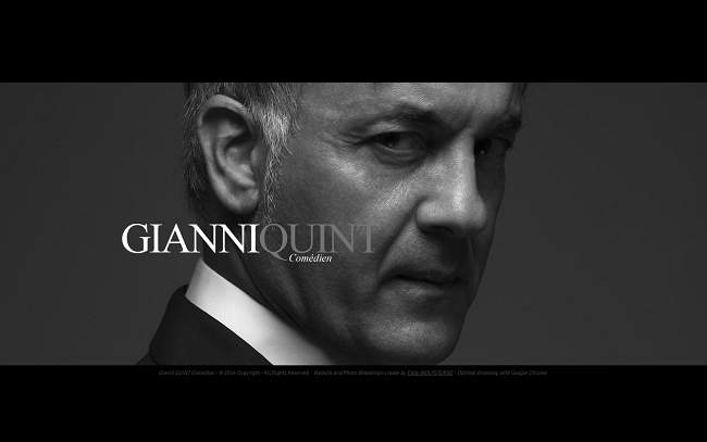 Accueil Gianni QUINT Comédien Cannes