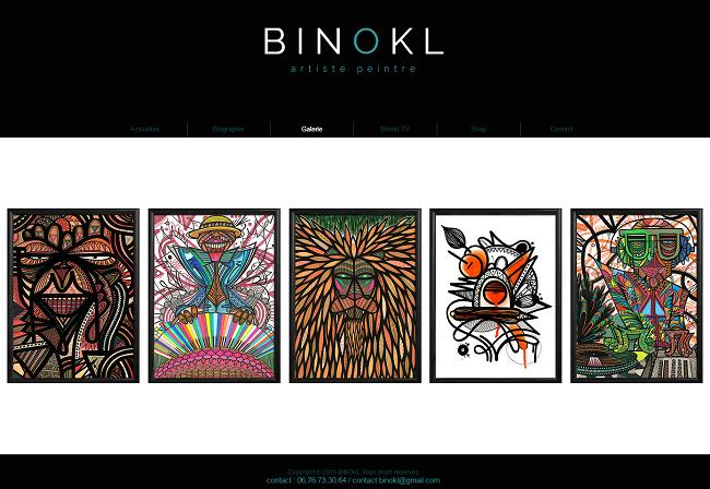BINOKL   Artiste Peintre