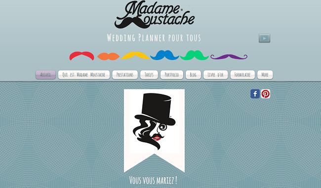 Madame Moustache wedding planner pour tous