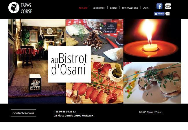 Au Bistrot d Osani   Restaurant Morlaix
