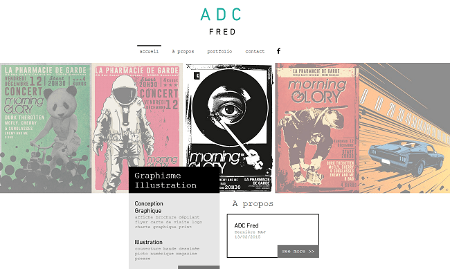 Fred ADC Graphiste Illustrateur