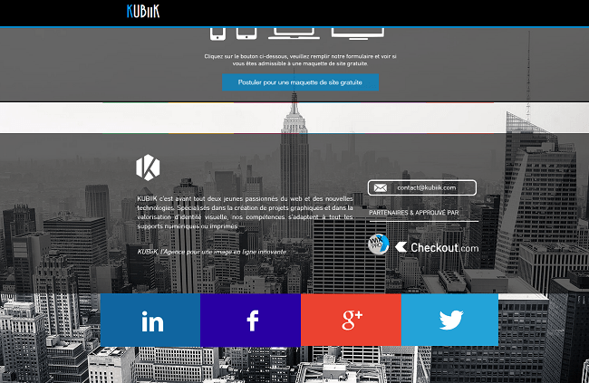 Portfolio   KUBiiK   L Agence pour une image en ligne innovante