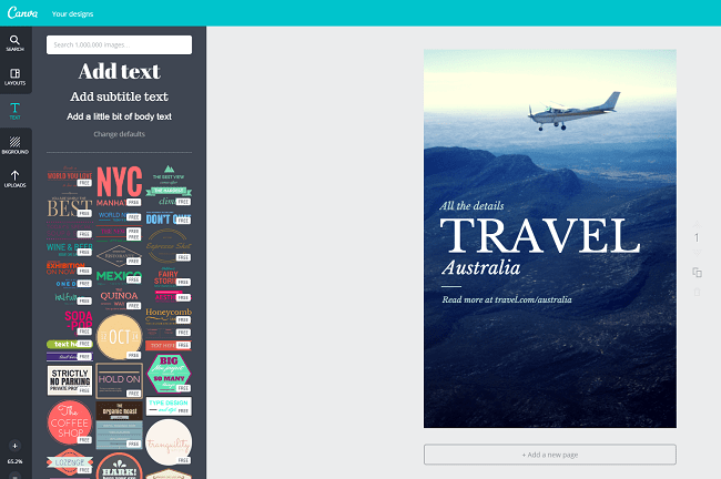 travel   Canva