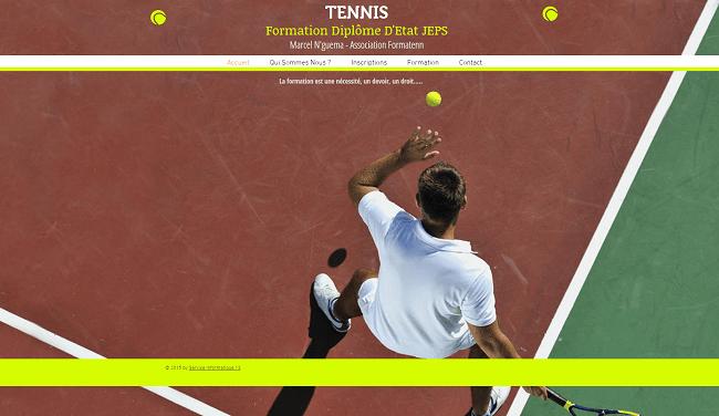 Formation DE Tennis