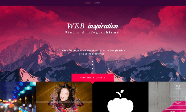 Web Design Studio Template de Site   WIX