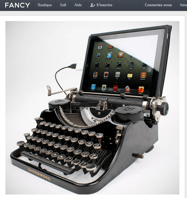 Fancy   USB Typewriter