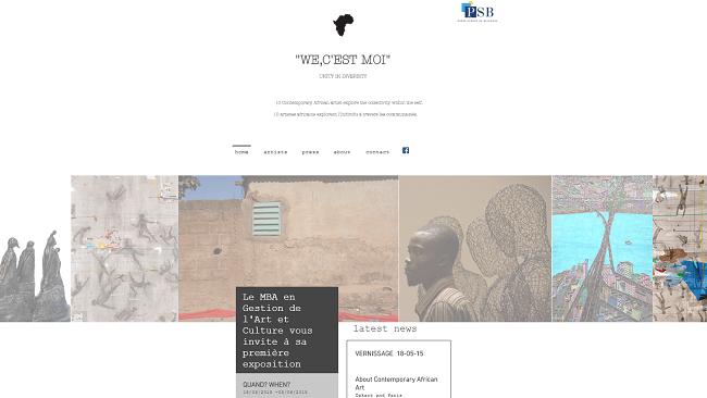 We c est moi  Contemporary African Art exhibition Paris