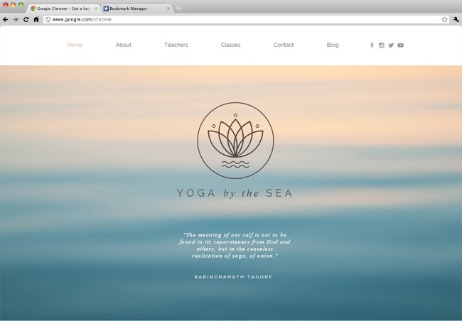 yoga Template Wix