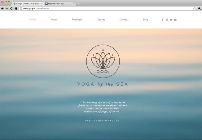 yoga Template Wix