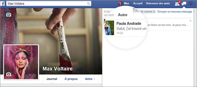 Visualiser profil Facebook comme un anonyme