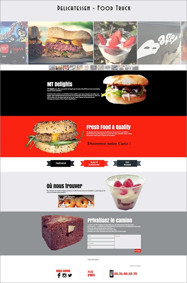 Delicatessen Food truck
