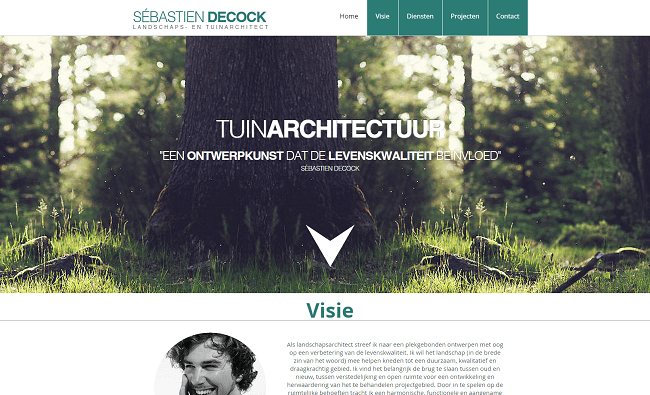 Sébastien Decock   Landschaps  en tuinarchitect