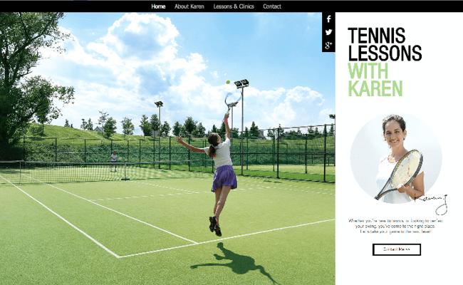 Template tennis