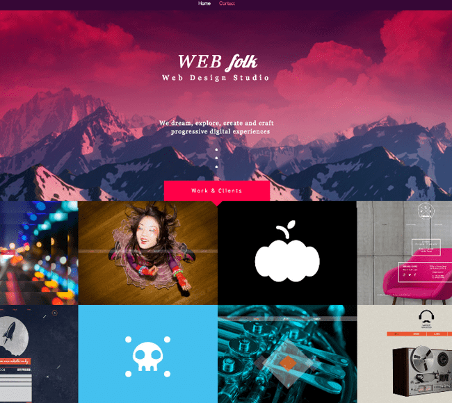 Template WIx : Web Design Studio