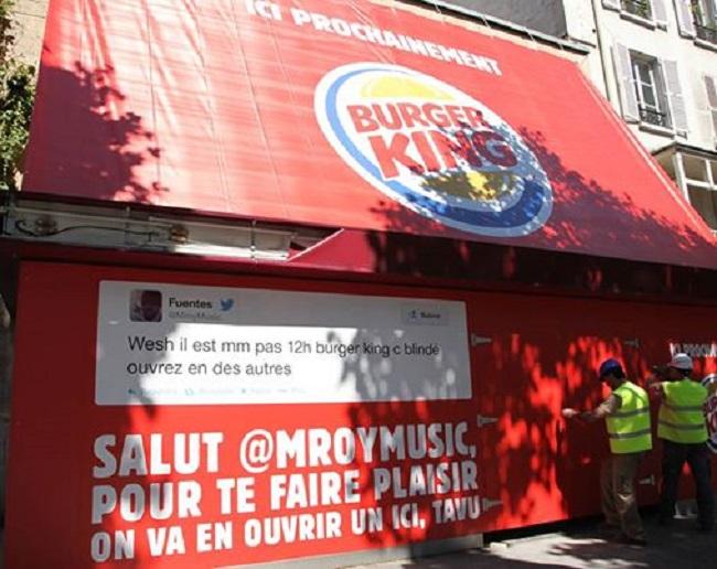 Burger King online/offline