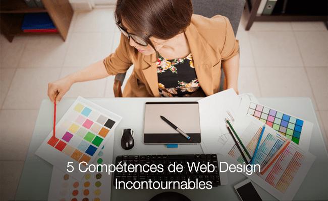 Compétences de web design