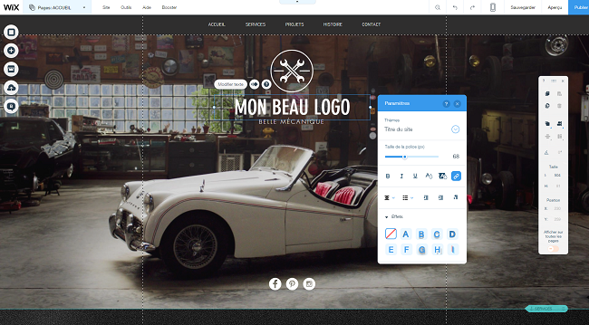 Comment créer un logo gratuitement avec Wix