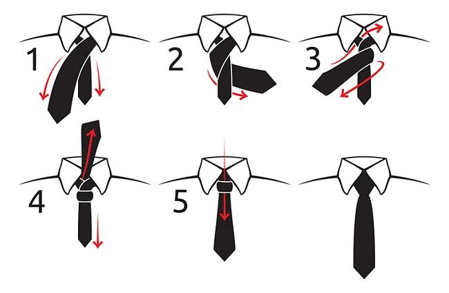 tuto cravate