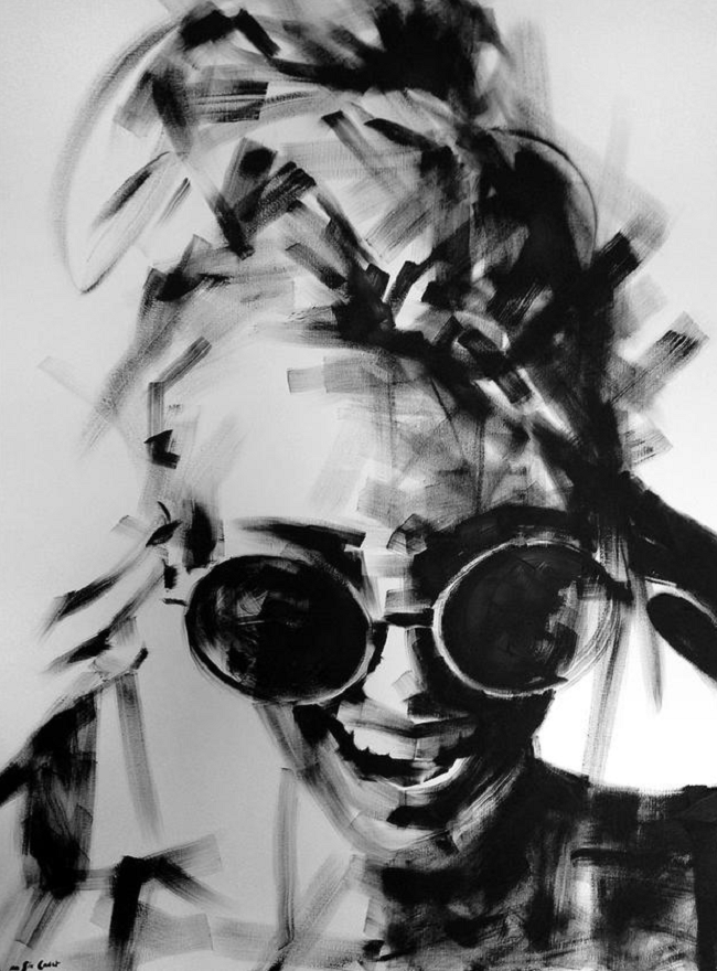 Marion Six noir blanc