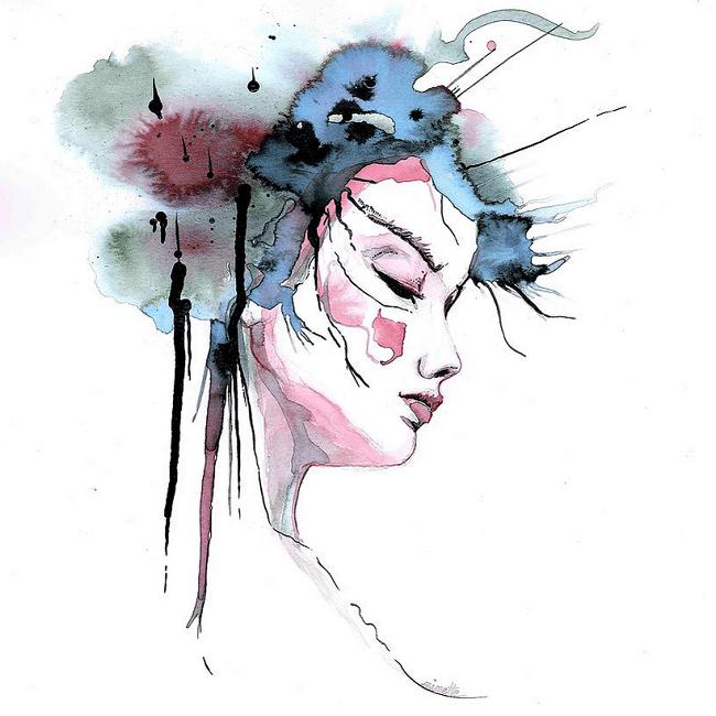 ninette ink art