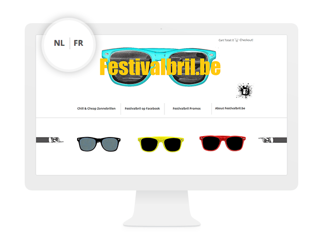 Site multilingue WIx