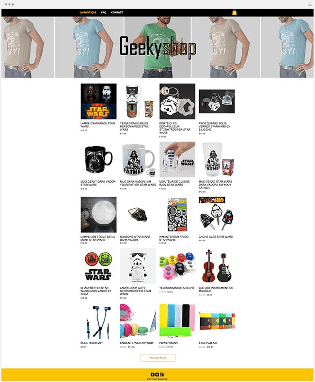 Geeky Shop