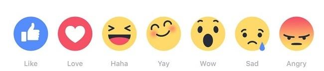 Nouveaux émoticônes Facebook Smileys