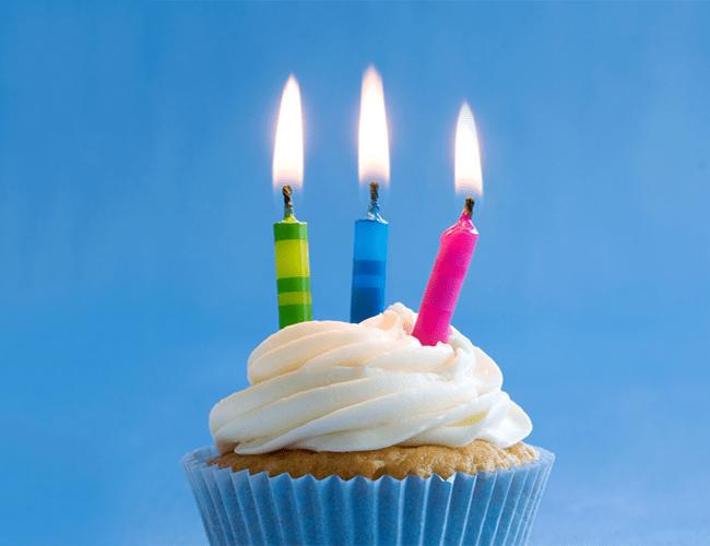 Gâteau Anniversaire 3 ans Bougies