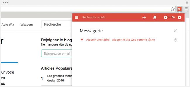 Extension Chrome : To Do list
