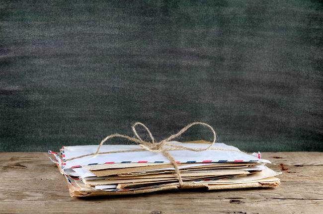 Pile de courriers