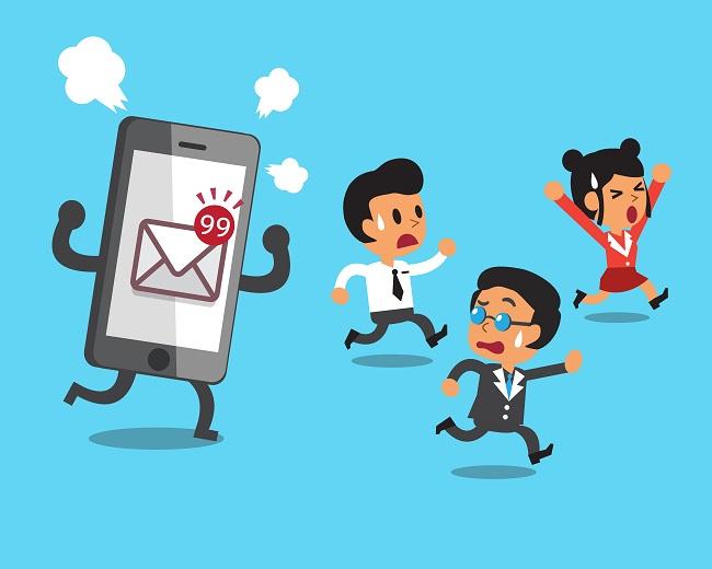 Smartphone Messagerie