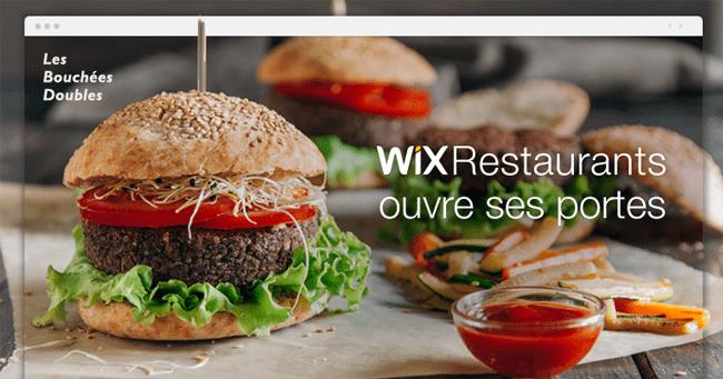 Wix Restaurants Présentation
