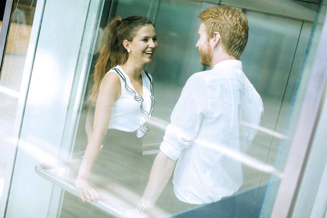 Discours de l'ascenseur