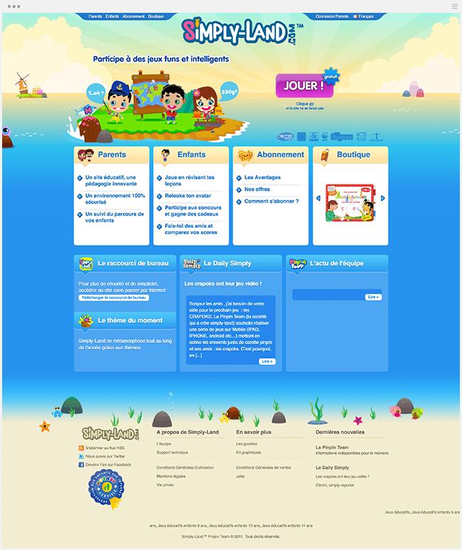 Simply Land Jeux Educatifs enfants