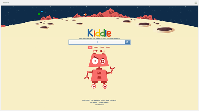 Kiddle moteur de recherche enfants