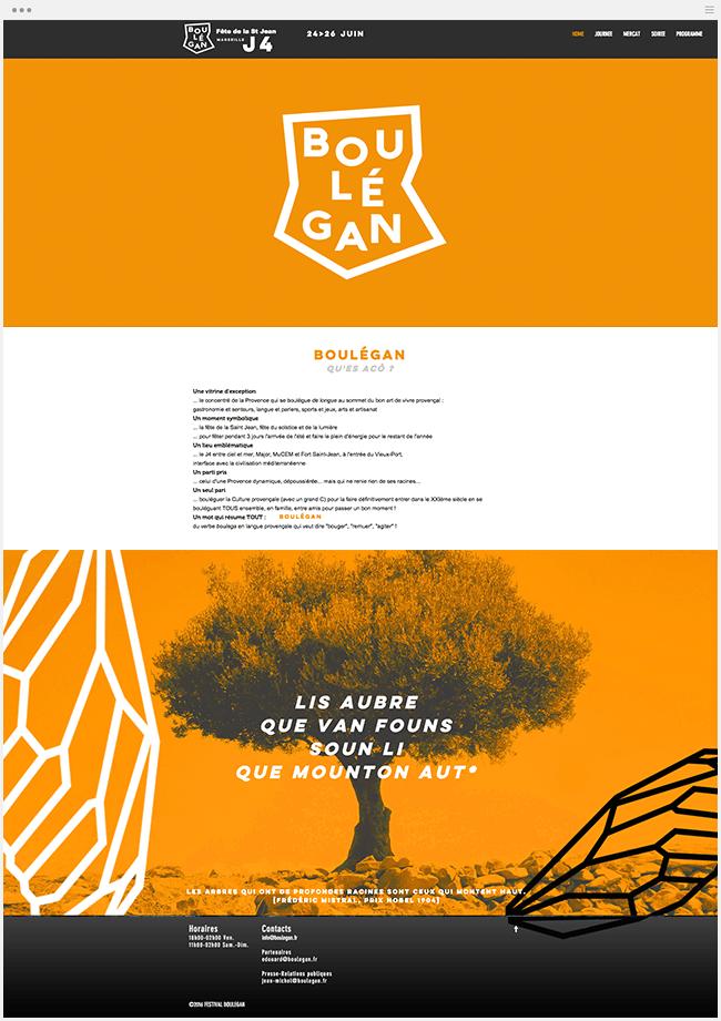 Boulégan Site Wix
