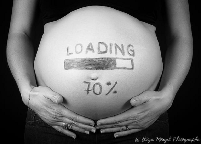 Photo femmes enceintes Eliza Mougel