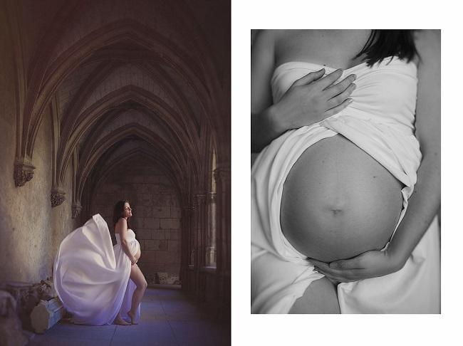 photographie femme enceinte isolbuffy