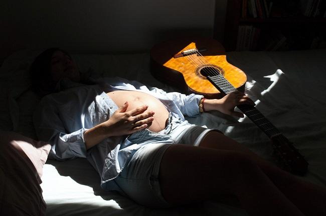 Photographie femme enceinte Julien Sanine