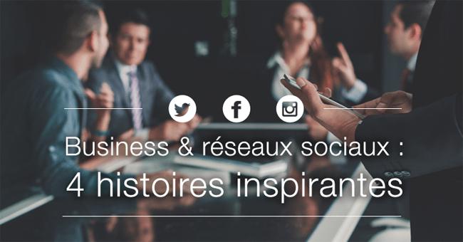 Faire des affaires grâce aux réseaux sociaux