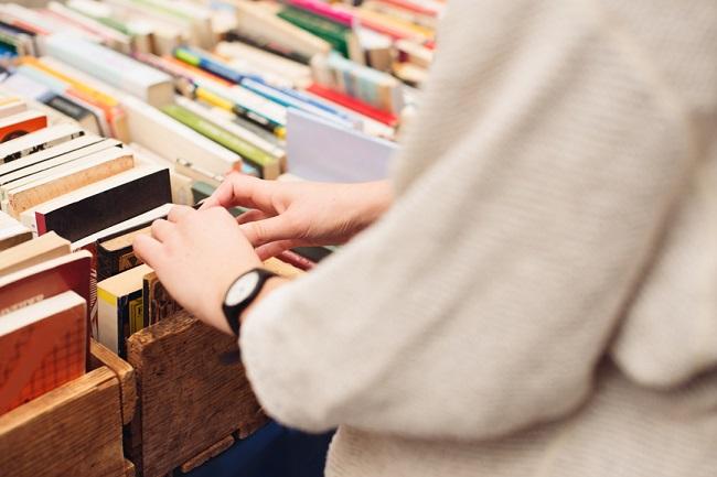 Trouver l'inspiration dans les couvertures de livres