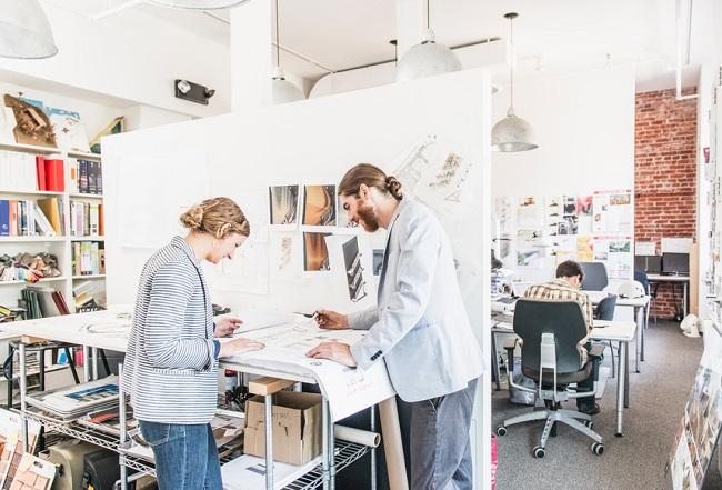 designers à la recherche d'inspiration