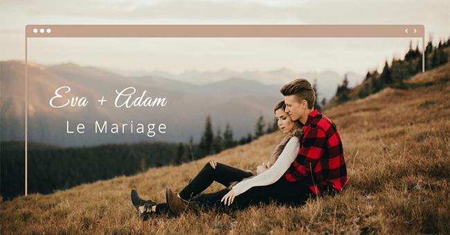 Comment réaliser un beau site de mariage gratuit avec Wix