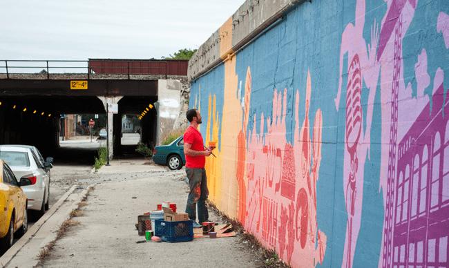 Gagner sa vie en faisant du street art et des graffitis