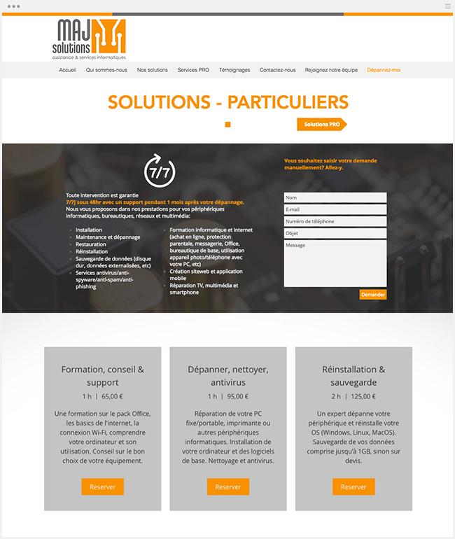 wix bookings réservation en ligne services aux entreprises