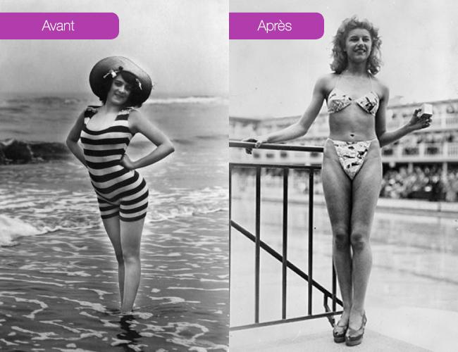 comment le design a changé notre habillement bikini