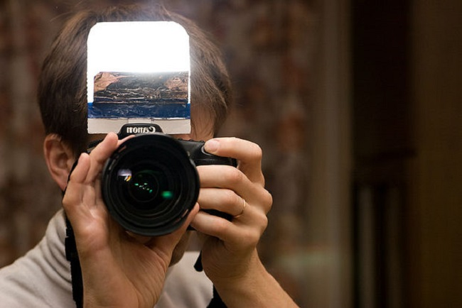 réflecteur flash gratuit photographie